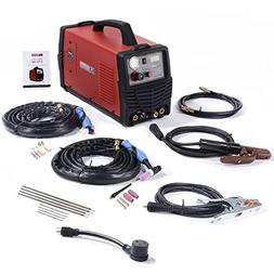 CTS-180 Combo 3-IN-1 DC Welder 40A-Plasma Cutter, 180A-TIG-T