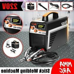 Digital 220V 400A MMA ARC Electric Welding Machine DC IGBT I