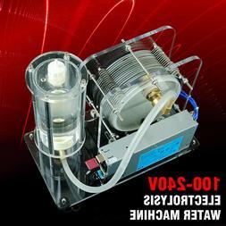Electrolysis Water Machine 100-240V Oxy-hydrogen Flame Gener