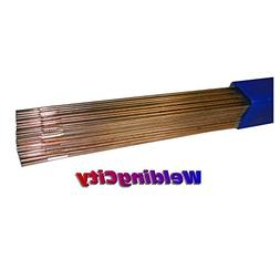 """WeldingCity 10-Lb ER70S-2 Mild Steel TIG Welding Rods 1/8""""x3"""