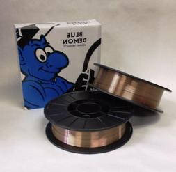 ER70S-6 .030 x 11 lb 2 PK MIG Steel Welding Wire spools Blue