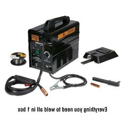 flux core 125 amp welder ready to