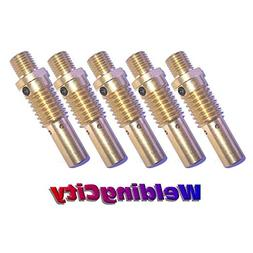 WeldingCity 5-pk Gas Diffusers 52 for Lincoln Magnum and Twe