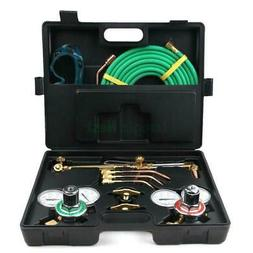 Gas Welding Cutting Welder Kit Oxy Acetylene Oxygen Torch wi