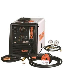 Hobart Handler 210MVP Flux-Core/MIG Wire-Feed Welder With Mu