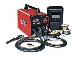 Lincoln Handy MIG Flux Electric Wire-Feed Arc Welder, Steel,