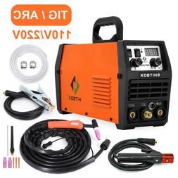 2 IN 1 HBT2000 LED TIG Welder 200A 110V 220V Inverter Stick