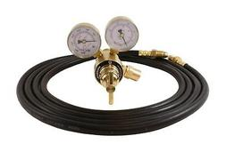 Industrial Argon Regulator/Flowmeter Gauges for MIG & TIG We