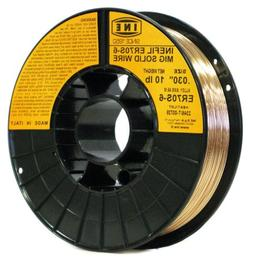 INEFIL ER70S-6 .030-Inch on 10-PoundSpool Carbon Steel Mig