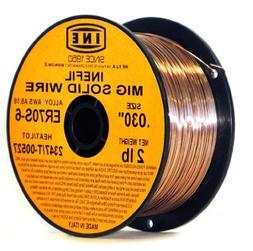 INEFIL ER70S-6 .030-Inch on 2-PoundSpool Carbon Steel Mig