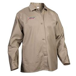 Lincoln Electric Khaki X-Large Flame-Resistant Cloth Welding