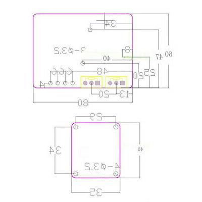 100A Display Spot Time Point Welding Panel Controller