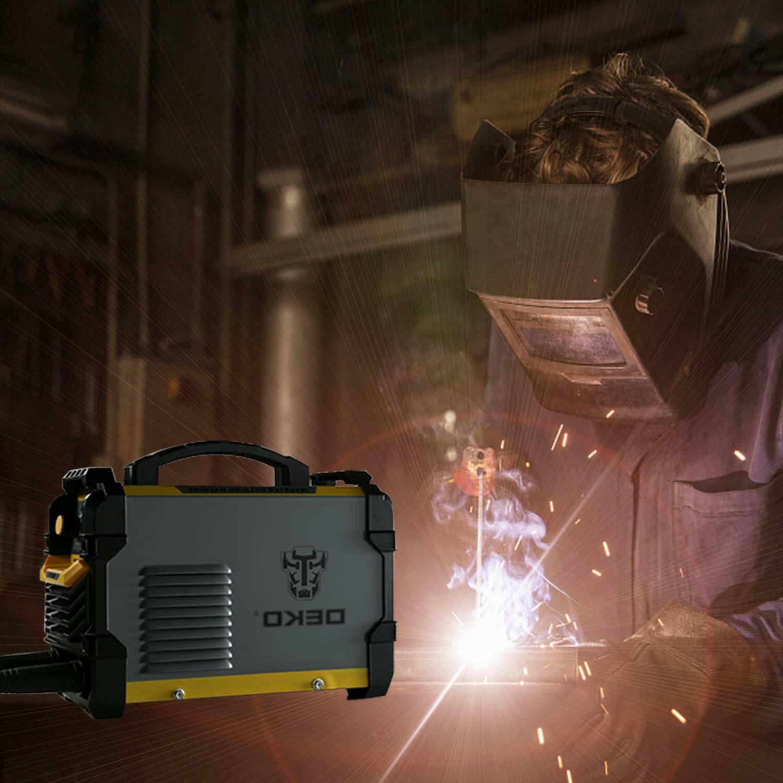 DEKO Machine 110/220V MMA ARC Display LCD Hot Start Welder