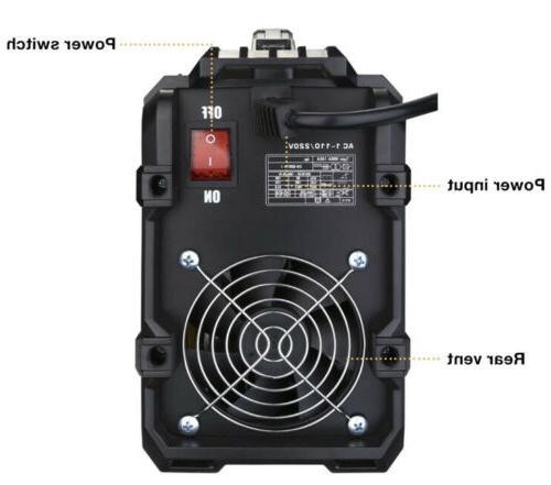 DEKOPRO 110/220V ARC Welder Digital Display Hot