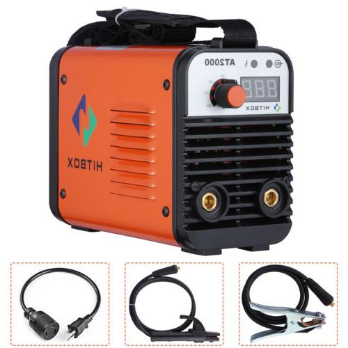 110V 220V Dual Volt AT2000 ARC Welder Rod Stick  Inverter We
