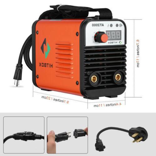 HITBOX 110V 220V Inverter Welder Mini Handheld Arc Welding M