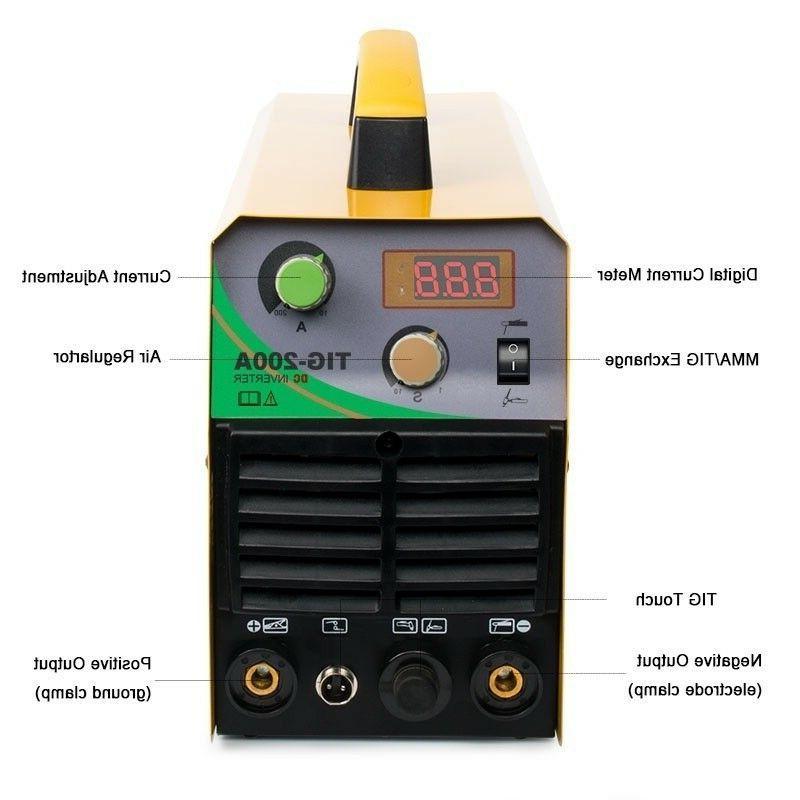 110V/220V Welder TIG/MMA ARC Welder 200A Inverter Welding Machine