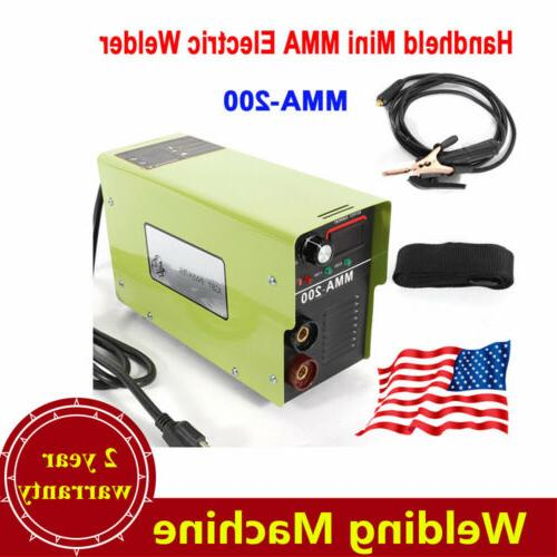 110v handheld mini mma 200 electric welder