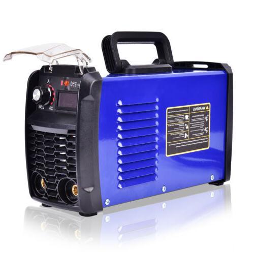 140 MMA-250 Inverter Portable Digital Welder Stick Welding Machine 110V