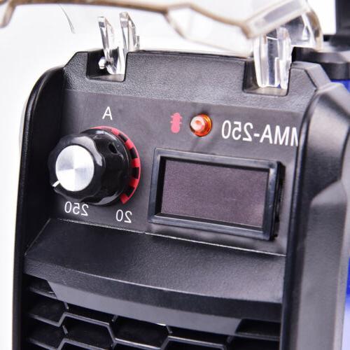 140 Amp MMA-250 Inverter Portable Digital Welding