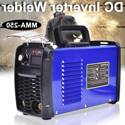 MMA-250 Portable DC Inverter Digital Stick Welder Welding Ma