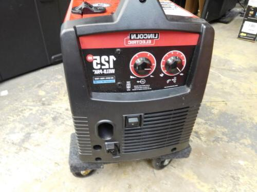LINCOLN ELECTRIC 125 HD WELD-PALK WIRE-FED FLUX CORED WELDER