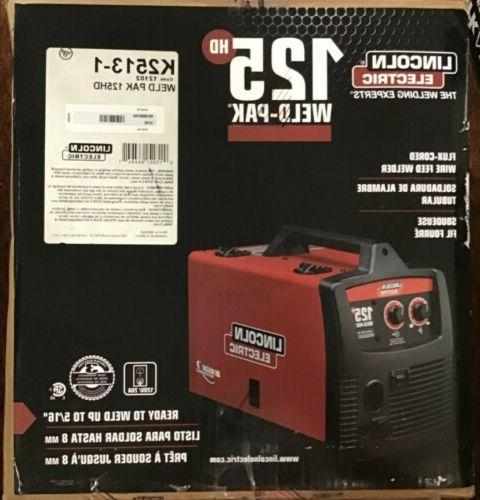 LINCOLN ELECTRIC FLUX CORED WELDER #