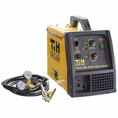 140 amp mig 120v welder includes gas