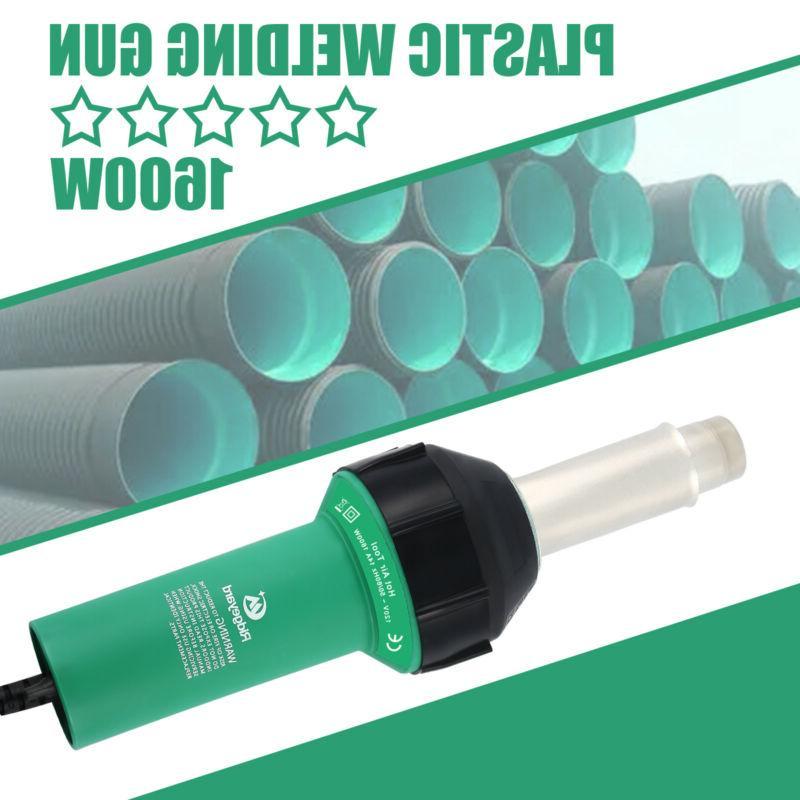 1600w hot air gun plastic welding heat
