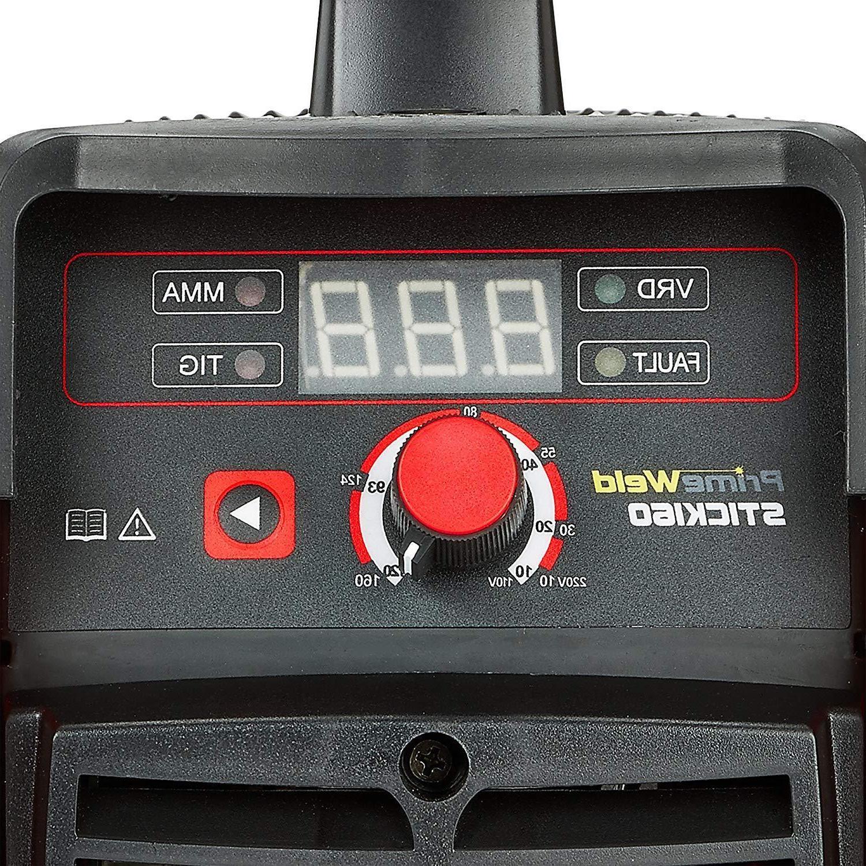 PRIMEWELD Arc/Stick Dual 110v/220v