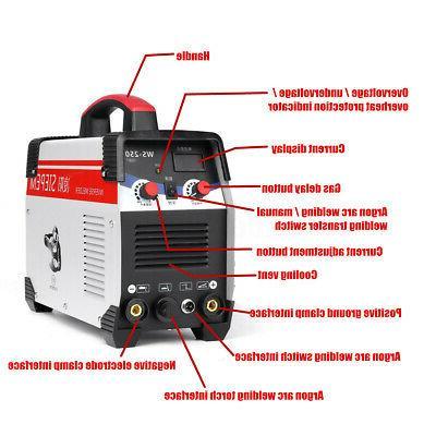 2 In 1 Stick/ARC Inverter AC DC 250A