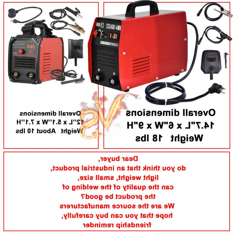 20~160A AMP 110/220V DC Welder Electric Welding Machine