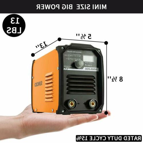 ARC MMA200 AMP DC Inverter Welder Mini Handheld 110V/220V