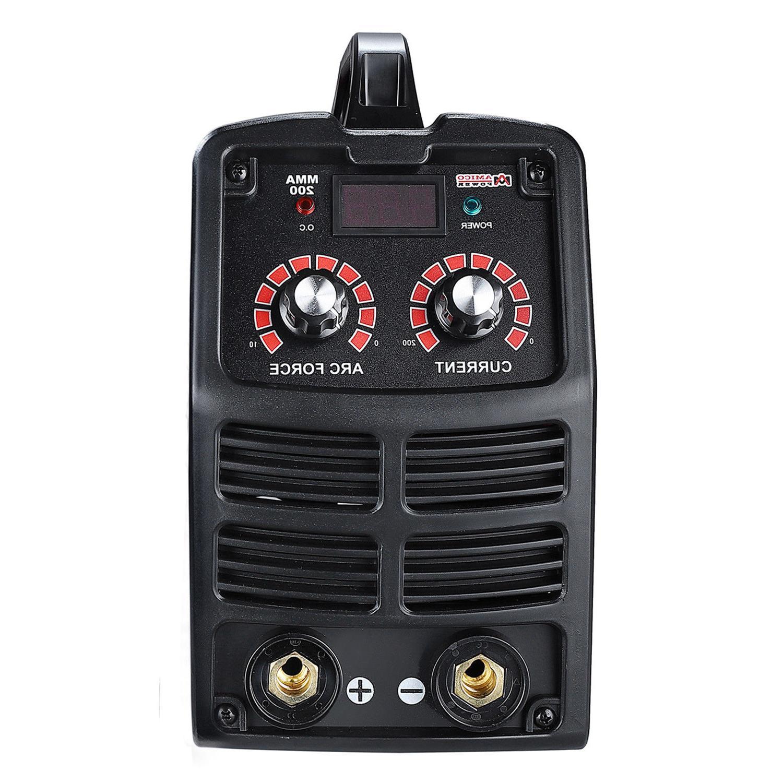 200 Amp Welder, 110V/230V Welding, E6011 E7014 E7018
