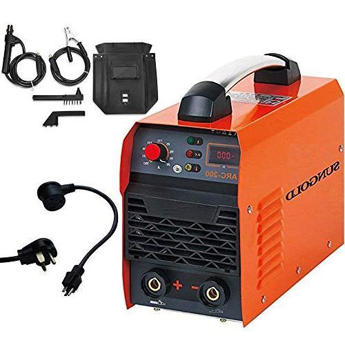 SUNGOLDPOWER IGBT Hot Start Welding Machine DC Welder AMP 110V