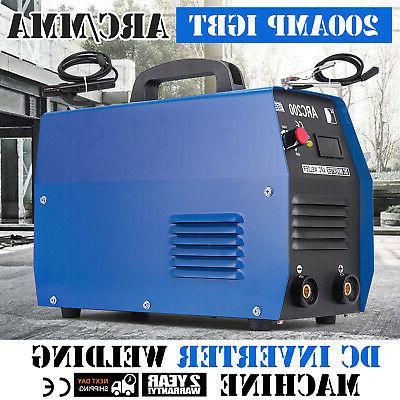 200amp stick arc mma dc inverter welder