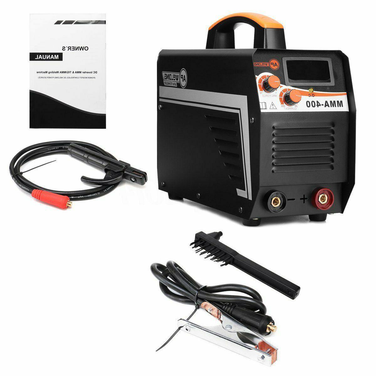220V 400A Digital Electric DC Inverter Stick Welder