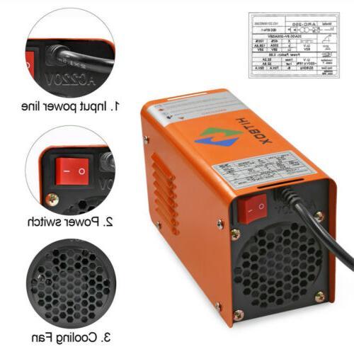 HITBOX 220V Mini Arc AC Inverter Welding IGBT