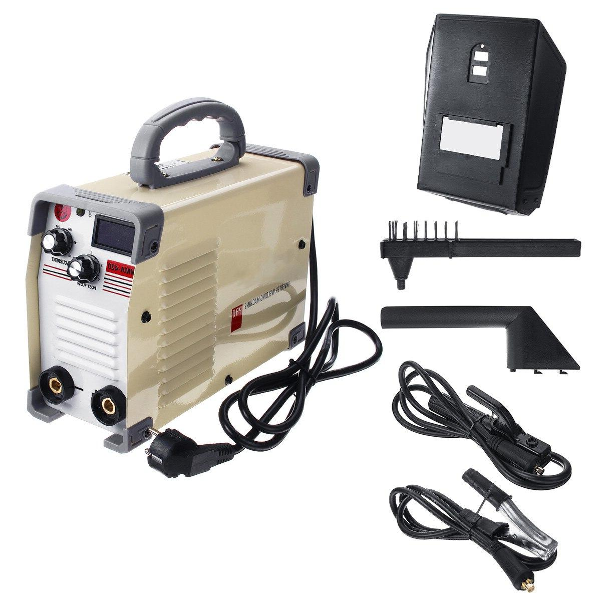 220V <font><b>Tig</b></font> Inverter 10-420A DC Welding Machine With Clamp Welding Working