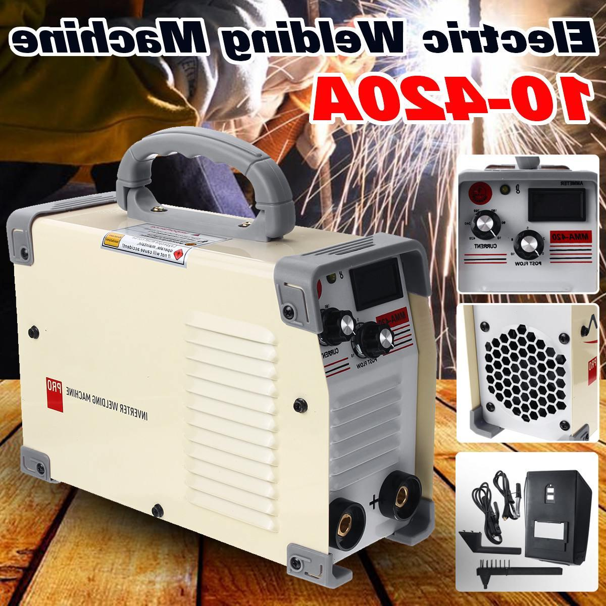 10-420A Handheld DC Welding With Clamp For Working <font><b>Welder</b></font> Inverter Tool