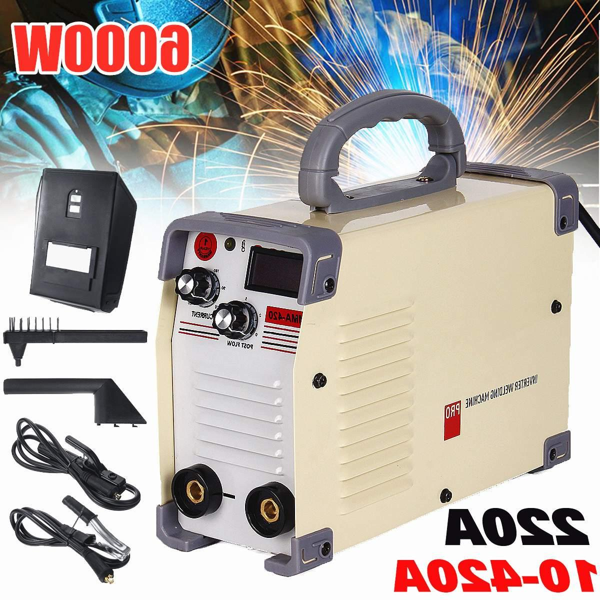 220V Mini <font><b>Tig</b></font> 10-420A DC Inverter Welding With Clamp For Welding