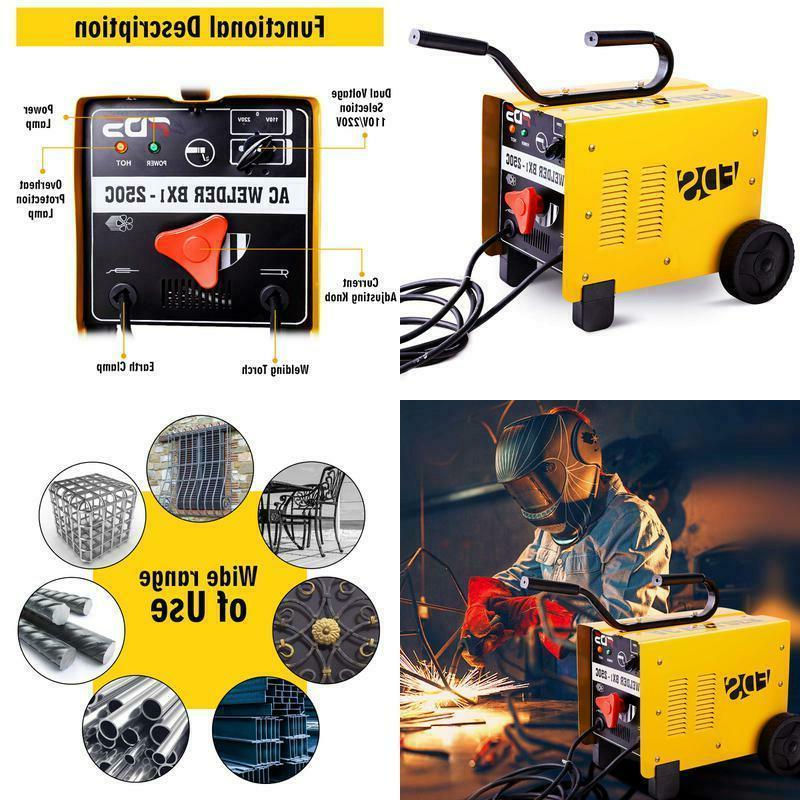 250 amp mma welder arc welding machine