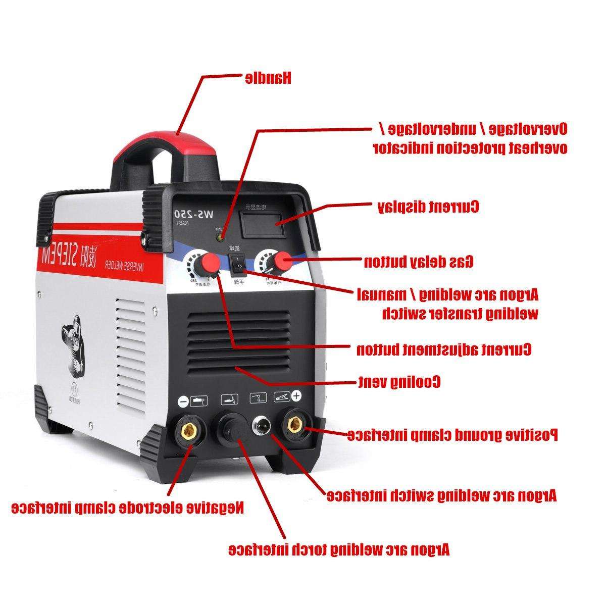 2In1 IGBT Arc Welding for Working
