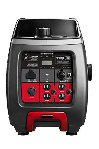 Briggs P3000 PowerSmart Series 3000-Watt Inverter 120-Volt Outlets and 12-Volt