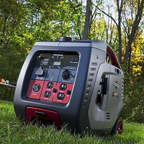 Briggs Stratton 30545 P3000 Series 3000-Watt Inverter 120-Volt 12-Volt