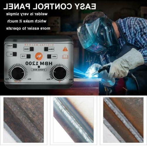 HITBOX 3in1 MIG Welder 220V LIFT TIG ARC Inverter Wire