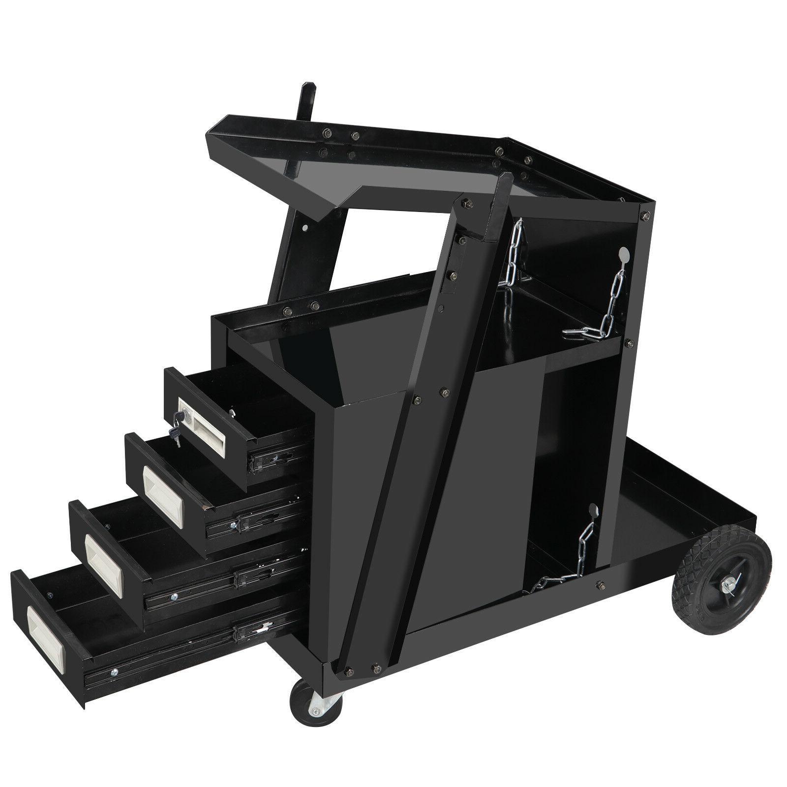 4 drawer cabinet welder welding cart plasma