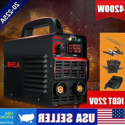4200w 225a arc electric welding machine mma