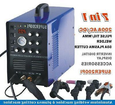 50A Plasma Machine 200A TIG/MMA