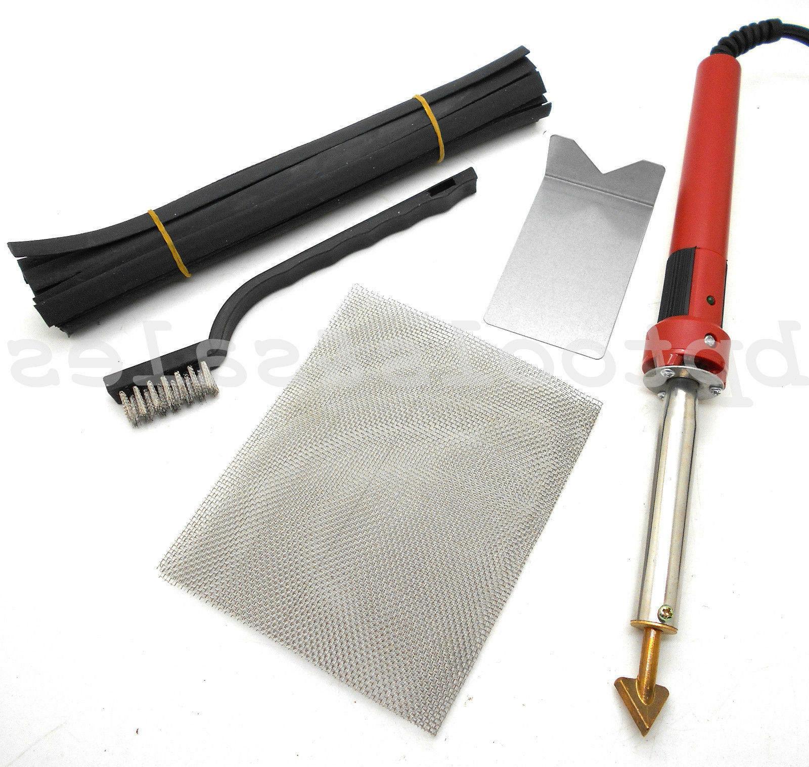 80 watt iron plastic welding kit tpo